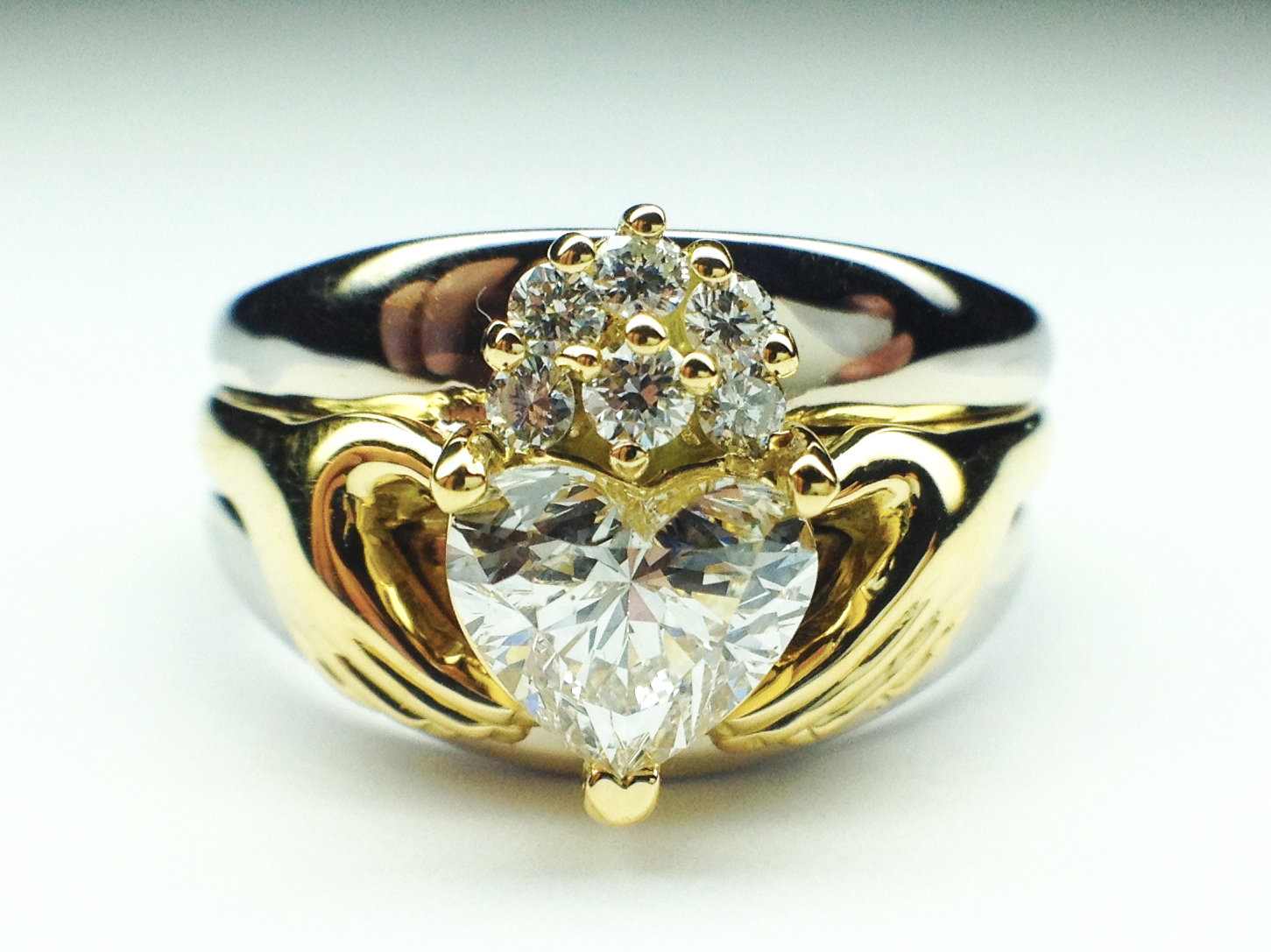 claddagh engagement ring - photo #23