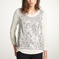 Haya sequin sweatshirt - J.Crew