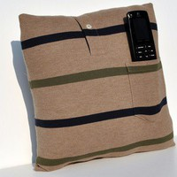 Recycle TV Remote Pillow