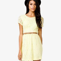 Lace A-Line Dress | FOREVER 21 - 2040480041