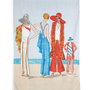 Sand My Regards Beach Towel in 1929 | Mod Retro Vintage Bath | ModCloth.com