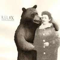 Bear and Granny 16 x 12 Print