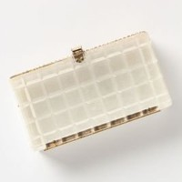Vintage Clear Lucite Clutch - Anthropologie.com