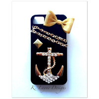 Custom Cell Phone Case Anchor by klaynedesigns on Etsy