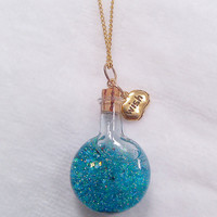 Magic Potion Wish Pendant Necklace
