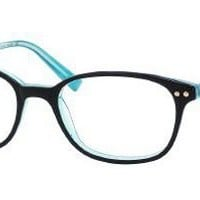 Amazon.com: Kate Spade Manuela Eyeglasses - 0DH4 Black Turquoise - 49mm: Shoes
