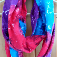 Tie Dye Soft Infinity Scarf