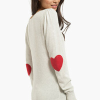 Heart on My Sleeves Sweater $35