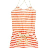 Juicy Couture | Striped Romper