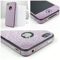[grdx02189]Cool Shiny Rhinestone Full Body Sticker For Iphone 4/4s/5