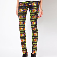 Lovely Aztec Jegging
