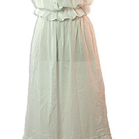 Victorian Camisole &amp; Petticoat