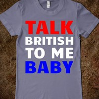 Talk British To Me - Text First