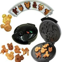 Disney Mickey &Gang 5 in 1 Tasty Baker Waffle Maker,Bakes Pancake,Muffins, breads, cakes, and brownies: Kitchen & Dining