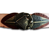 Tribal Statement Belt for Women, Small Waist Belt, Womens Belt