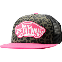 Vans Pink &amp; Leopard Print Trucker Hat