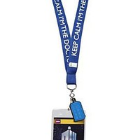 Doctor Who Keep Calm Lanyard - 843794