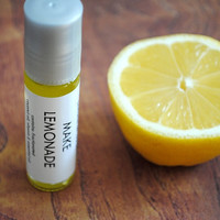 Make Lemonade Perfume Oil - Roll On Perfume Lemon Citrus Fragrance Essential Oil All Natural