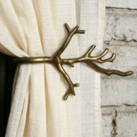 UrbanOutfitters.com &gt; Branch Curtain Tie-Back