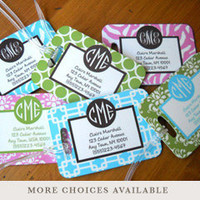 Clairebella Personalized Address/Luggage Tags
