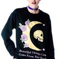 Jac Vanek Beautiful Things Crew Sweatshirt | Dolls Kill