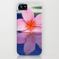 Plumeria Bloom  iPhone Case by Bree Madden  | Society6
