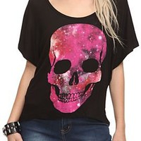 Galaxy Skull Crop Top - 752250