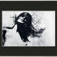 Closer Framed Giclee Print by Alex Cherry