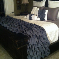 ON SALE - Ruffled Queen Blanket
