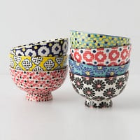 Tiled & Dotted Bowl