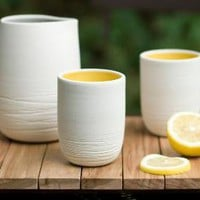 Supermarket - Scribble Tumbler from Pigeon Toe Ceramics