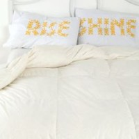 Rise and Shine Pillowcase SetOnline Only!