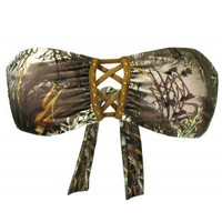 Realtree Girl® Camo Swimsuits | Max-1 Camo Bandeau Swimsuits