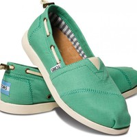 Green Nautical Women's Biminis | TOMS.com