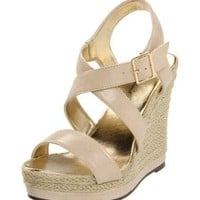 Michael Antonio Women's Galin Wedge Sandal