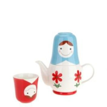 Matryoshka Tea for Two Set