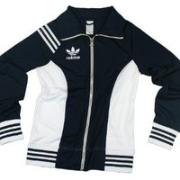 Amazon.com: Adidas Womens Lightweight Trefoil Track Jacket: Sports &amp; Outdoors