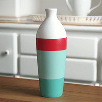Painted Ceramic Vase Home Decor