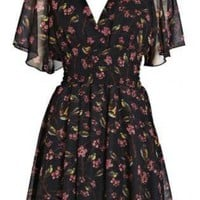 Multi Day Dress - Lightweight Floral Dress | UsTrendy