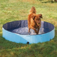 Amazon.com: PetEdge Guardian Gear Splash About Dog Pools, Sky Blue, Small: Pet Supplies