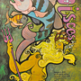 Piscis Original 1970 Vintage Collectible Poster