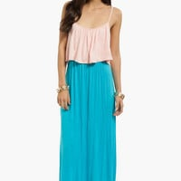 Double Tone Maxi Dress $33