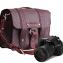 105 Camera Bag  Burgundy  Voyager Style  Full by CopperRiverBags