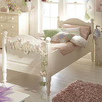 handpainted solid wood bed by fairbourn children's furniture (part of eastburn country furniture) | notonthehighstreet.com