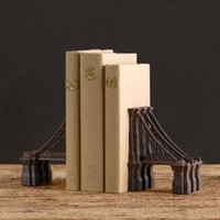 Brooklyn Bridge Bookends (Set of 2) | Books & Bookends | Restoration Hardware
