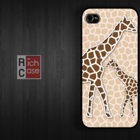 Case iPhone 4 Case iPhone 4s Case iPhone 5 Case idea case Giraffe animal