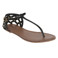 Kasa Stud Cage Sandal | Shop Shoes at Wet Seal