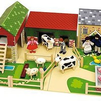 wooden farm by i love toys | notonthehighstreet.com