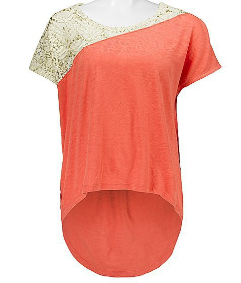 Threads 4 Thought Low High Hem Top - Women's Shirts/Tops | Buckle, lace sequin top