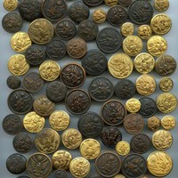 168 U.S. military Great Seal buttons uniform antique and vintage buttons